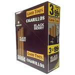 Good Times Cigarillos Black Berry 15/3