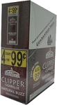 Clipper Cigarillos Natural Buzz 15/4 Pouch 4 for $0.99