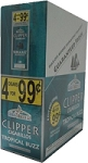 Clipper Cigarillos Tropical Buzz 15/4 Pouch 4 for $0.99
