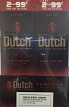 Dutch Masters Cigarillos Rum Fusion 2 for $0.99