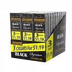 Good Times Cigarillos Black 30/3 Packs 3 for $0.99 Pre-Priced
