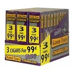Good Times Cigarillos Wine 30/3 Packs 3 for $0.99 Pre-Priced