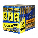 Good Times Cigarillos Blueberry 30/3 3 For $0.99