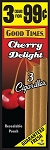 Good Times Cigarillos Cherry Delight Pouch 15/3