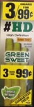 Good Times Cigarillos HD Green Sweet Pouch