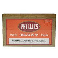 Phillies Blunt Cigars Peach Box