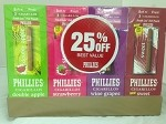 PHILLIES FOIL CIG DISPLAY 25% OFF 4/30CT