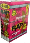 RAP Cigarillos Strawberry Pouch 15/4 Pre-Priced