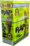 RAP Cigarillos White Grape Pouch 15/4 Pre-Priced