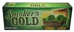 Smoker's Gold Filtered Cigars Menthol