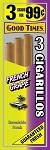 Good Times Cigarillos French Grape Pouch 15/3