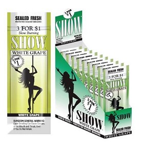 Show Cigarillos White Grape 3 for $1