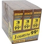 Good Times Cigarillos Original 30/3 Packs 3 for $0.99 Pre-Priced