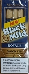 Black & Mild Wood Tip Royale Cigars Pack