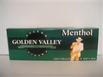 Golden Valley Filter Cigars Menthol