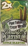 Double Platinum Cigar Wrap Apple Martini