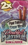 Double Platinum Cigar Wrap Gin Juice