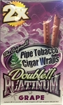 Double Platinum Cigar Wrap Grape