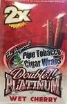 Double Platinum Blunt Wrap Wet Cherry