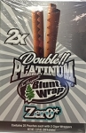 Double Platinum Blunt Wrap Zero