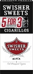 Swisher Sweets Cigarillos Black Pack 5FOR3