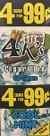 4 Kings Cool Mint Cigar Pouch