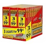 Good Times Cigarillos Sweet 30/3 Packs 3 for $0.99 Pre-Priced