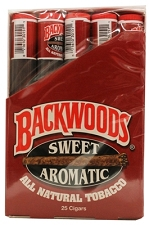 Backwoods Sweet Aromatic Tube Cigars 25ct