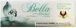 Bella Filtered Cigars Menthol Silver (Ultra Lights)