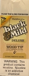 Black & Mild Deluxe Wood Tip Pre Priced Cigars Box