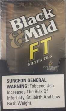 What Is My Paypal Email >> Black & Mild Filter Tip Cigars 10/5 - CheapLittleCigars.com