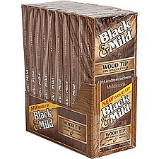 Black & Mild Original Wood Tip Cigars Pack