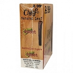 Chief Natural Leaf Sweet 2 for 99 Cigars