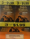 Dutch Masters Cigarillos Honey Comb 2 for 0.99 60 Ct