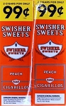 Swisher Sweets Cigarillos Foil Pack Peach