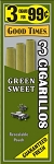 Good Times Cigarillos Green Sweet Pouch 3 for 0.99
