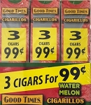 Good Times Cigarillos Watermelon 30/3 Packs