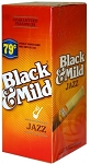 Black & Mild Jazz Cigars Box .79c