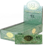 JOB Organic Hemp 1 1/4 Unbleached Cigarette Paper