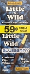 Little n Wild Blueberry 59c Tip Cigars Box