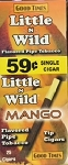 Little n Wild Mango 59c Tip Cigars Box