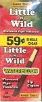 Little n Wild Watermelon 59c Tip Cigars Box