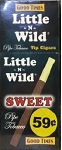 Little n Wild Sweet 59c Tip Cigars Box