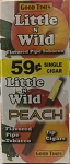 Little n Wild Peach 59c Tip Cigars Box