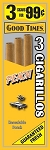 Good Times Cigarillos Peach Pouch 15/3