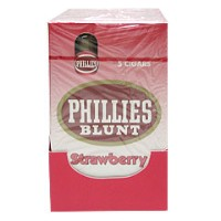 Phillies Blunt Cigars Strawberry Pack