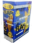 RAP Cigarillos Blueberry Pouch 15/4 Pre-Priced