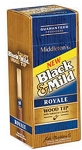 Black & Mild Royale Wood Tip Cigars Box