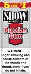 Show Cigarillos Russian Gem 5 for 1