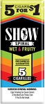 Show Cigarillos Wet Fruity 5 for 1